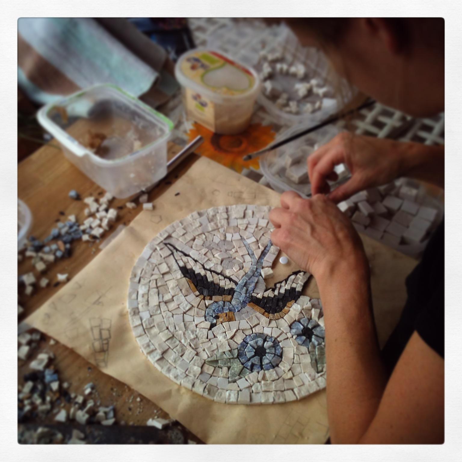 Schemi Elettrici Base Per Principianti : Corso per principianti di mosaico ecco cosa potete fare