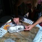 corso base mosaico- preparazione malta di fondo-giorgia palombi